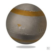 Metal Sphere study by muzski