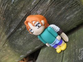 Ingrid from Subsapien Polymer Clay Chibi (Angled) by LadyElasa