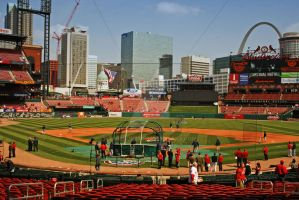 Beautiful Busch Stadium by twilson390