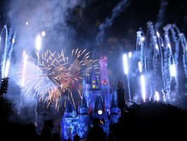 Disney Fireworks 10 by ModernMessiah-Photos