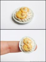 Miniature Fried Eggs Over Rice (Gift) by Bon-AppetEats