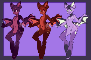 [A] Going Batty [CLOSED] by Pikapaws