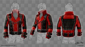 Rockstar Leather Jacket Design by priteeboy
