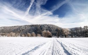 Winter Landscape by hquer