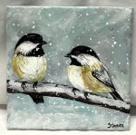 Chickadees by ThisArtToBeYours