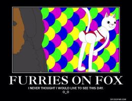 Furries on Fox? by Technicallyderped