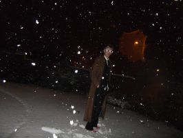 10th Doctor Cosplay - Snow by TimeLord1991
