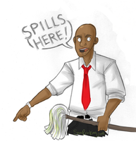 L4D - SPILLS HERE by SuperKusoKao