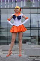 Sailor Venus II by JustPeachyCosplay