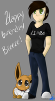 Early Birthday drawing for Breeze :D by Freeze-pop88