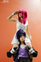 Sinbad and Morgianna by Harker-Cosplay