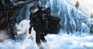 ASOIAF - Jon Snow by pulyx