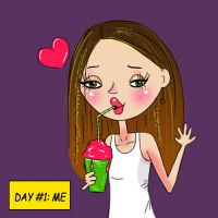 Day One: Me by Christine-E