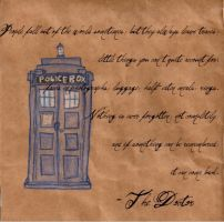 TARDIS Wallpaper by Bellaminion
