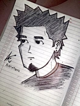 simple draw for @m_shinoda by MREXCE