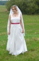 bride on a field 1 by indeed-stock