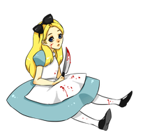 Alice can take care of herself ty by kiimcakes