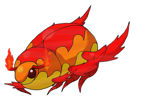 Scarab Fakemon by Smiley-Fakemon