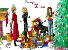 'X'-mas by featureEnvy