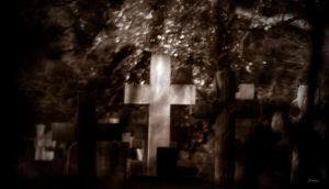 crosses through glass by awjay