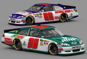 2011 Dale Jr. Replicas by Driggers