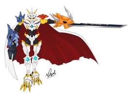 The Royal Knight - Omnimon X by WingBlade48