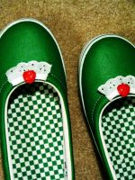 strawberry shoes by eyeglasses