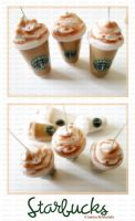 Starbucks Frappuccinos by ChocoAng3l