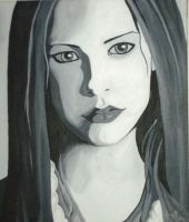 Avril painting by Crystal-Cat