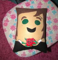 Oliver Sykes Pillow by iluvtssatl