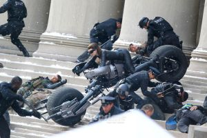 Selina Kyle Catwoman set photo by SicSlipknotMaggot