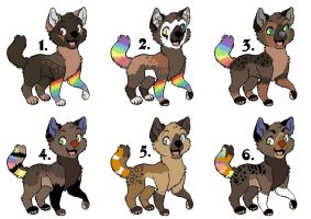 Pups to ~Kaes-Loveable-Adopts by MichelsAdoptions