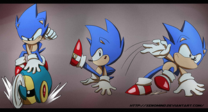 Toei Sonic Stuff 2 by XenoMind