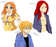 characters by vanille913