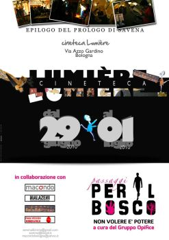 Flyer epilogo Lumier by DogonReview