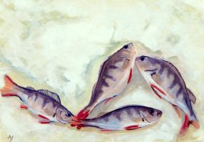 Fishes on ice by h-i-l-e-x