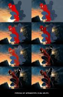 Making of Spiderman 3 by zinph1212