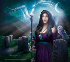 Celtic Witch by MorriganMagie