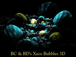 BC and BDs Xaos Bubbles 3D by Fractal-Resources