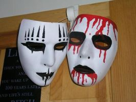 Joey Jordison Masks by danioko