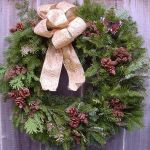 Natural Christmas Wreath by LilyWyte