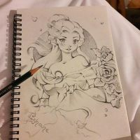 Belle Sketch (Paris Sketch Book) by Lighane