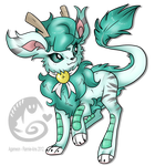 Agameon - Fake Eeveelution by Rannarbananar