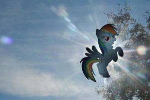 Rainbow Dash is the Sun by UtterlyLudicrous