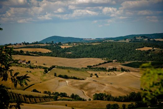 postcard from tuscany 02 by vallanthe