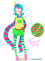 Pixel Trickster Roxy by reezetto