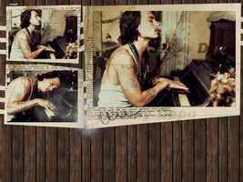 Johnny Depp Wallpaper 3 by Dzouff