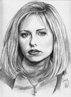 Sarah Michelle Geller-Buffy by TerryXart