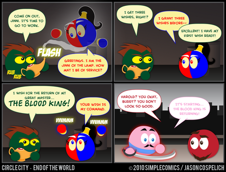 CC427 - End of the World 27 by simpleCOMICS