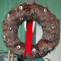 Halloween Monster Wreath by AlaskanWildfyre